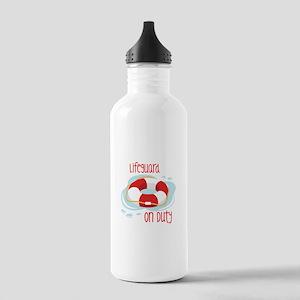 Lifeguard On Duty Water Bottle