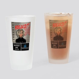 Bubblehead Breakout Drinking Glass