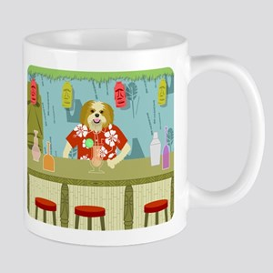 Shih Tzu Tiki Bar Coffee Mug