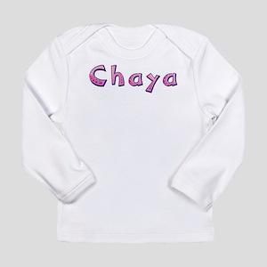 Chaya Pink Giraffe Long Sleeve T-Shirt
