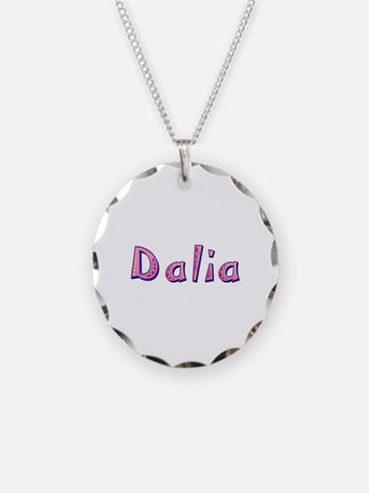 Dalia Pink Giraffe Necklace