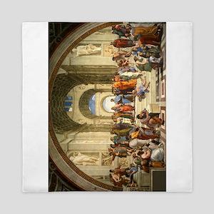 Raphael - The School of Athens Queen Duvet