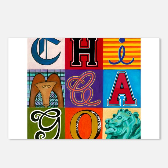 Chicago Sculptures Postcards (Package of 8)