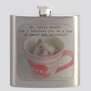 Cup of sweet and adorable Flask