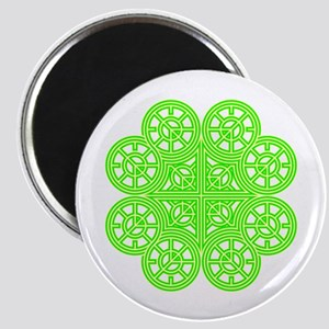 Shamrock of Infinite Peace and Love 01 Magnet