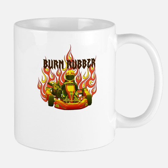 Burn Rubber Mugs