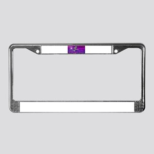 Autism Dancing License Plate Frame