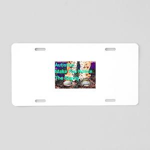 Autisitcs Beauty Aluminum License Plate