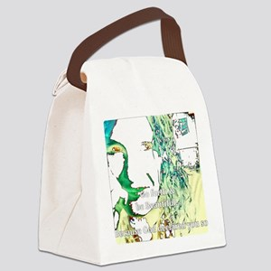 Be Beautiful Canvas Lunch Bag