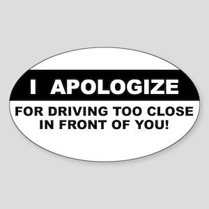 too-close-BS Sticker
