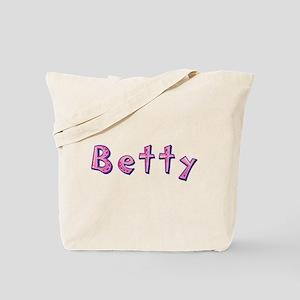 Betty Pink Giraffe Tote Bag