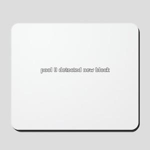 pool 0 detected new block Mousepad