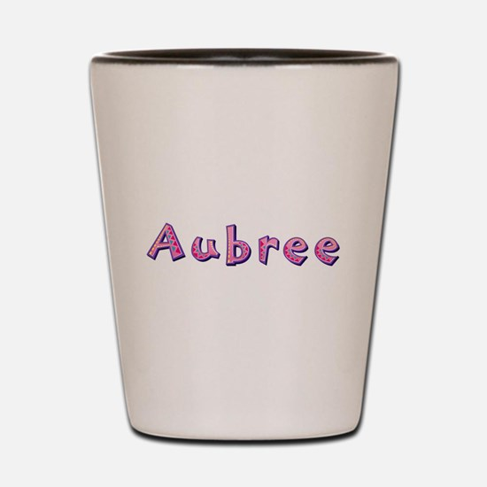 Aubree Pink Giraffe Shot Glass