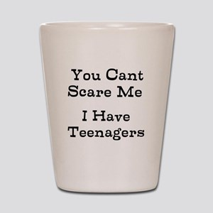You Cant Scare Me I Have Teenagers Shot Glass