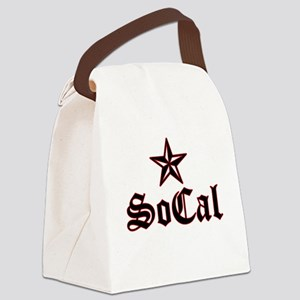 socal_005 Canvas Lunch Bag