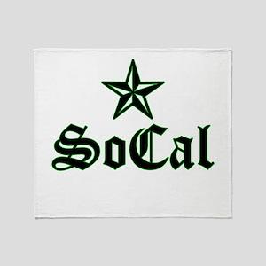 socal_003 Throw Blanket
