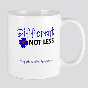 Different Not Less Mugs