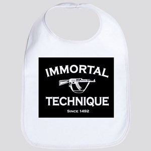 Immortal Technique Black Bib