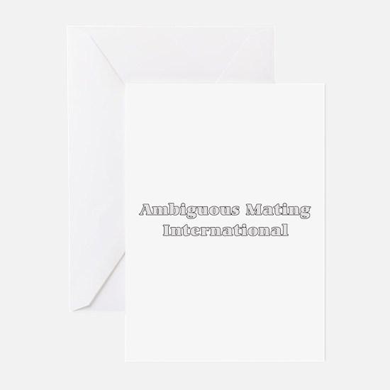 ambiguous mating Greeting Cards (Pk of 10)