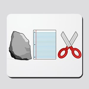 Rock Paper Scissors Mousepad