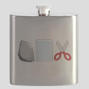 Rock Paper Scissors Flask