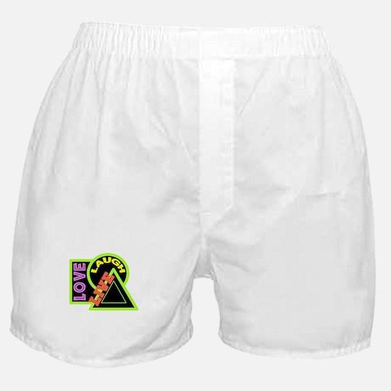 Live, Laugh, Love Boxer Shorts