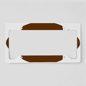 LD Football Logo License Plate Holder