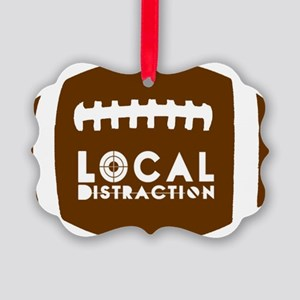 LD Football Logo Picture Ornament