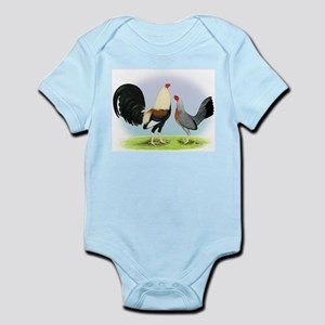 Grey Gamefowl Infant Bodysuit