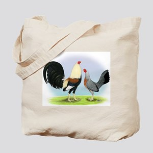 Grey Gamefowl Tote Bag