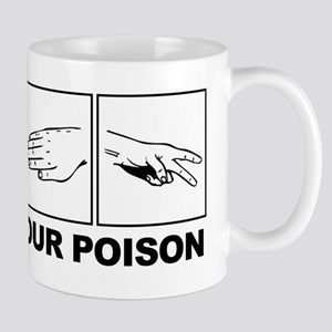Rock Paper Scissors Pick Your Poison Mugs