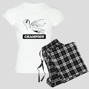 Rock Paper Scissors Champion Pajamas