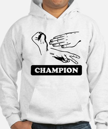 Rock Paper Scissors Champion Hoodie