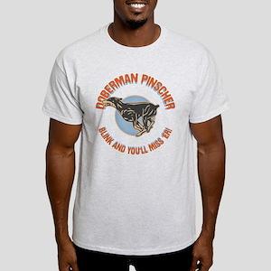 Doberman Blink Light T-Shirt