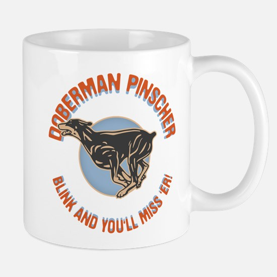 Doberman Blink Mug