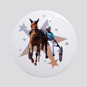Harness Star Ornament (Round)