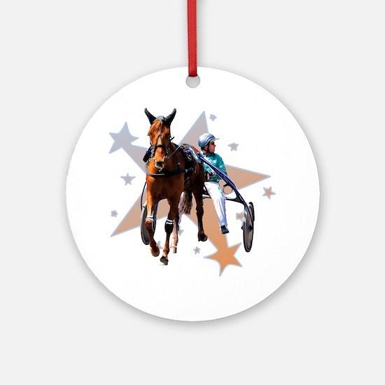 Harness Star Ornament (Round)