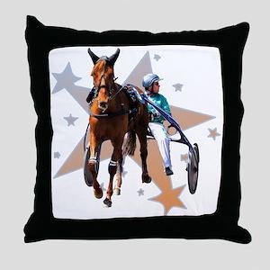 Harness Star Throw Pillow