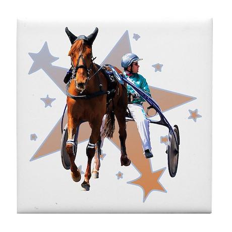 Harness Star Tile Coaster