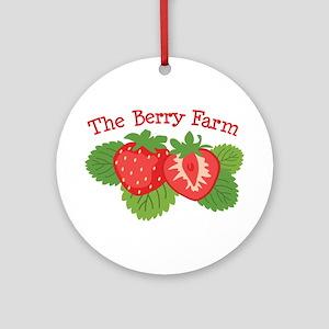 The Berry Farm Ornament (Round)