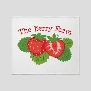The Berry Farm Throw Blanket