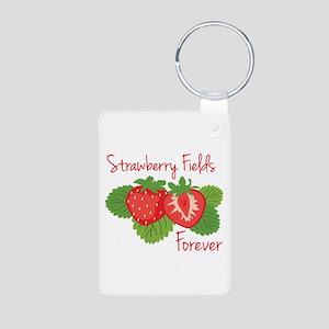 Strawberry Fields Forever Keychains