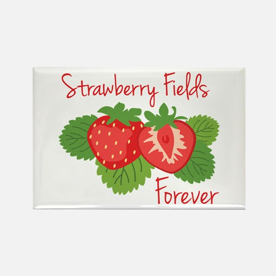 Strawberry Fields Forever Magnets