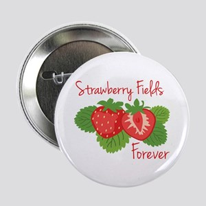 """Strawberry Fields Forever 2.25"""" Button"""