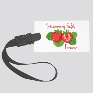 Strawberry Fields Forever Luggage Tag