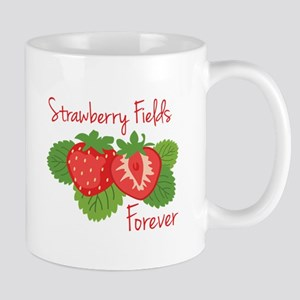 Strawberry Fields Forever Mugs