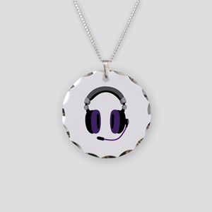 Video Gamer Headset Necklace