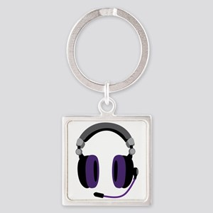 Video Gamer Headset Keychains