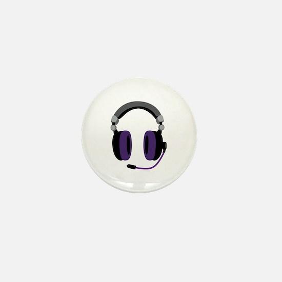 Video Gamer Headset Mini Button