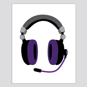 Video Gamer Headset Posters